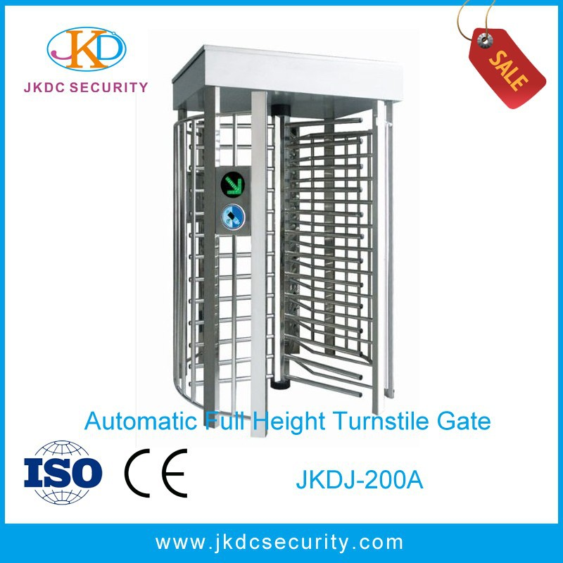 600 MM Channel Width Waist-high Outdoor Use Full height turnstile