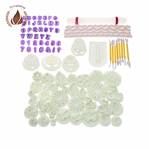 New Fondant silicone embossing mould set for Cake Decoration Set