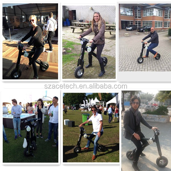 Hot sale high quality electric scooter foldable