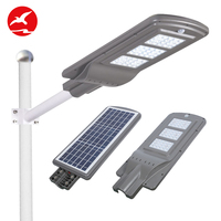 Flying lighting zhongshan super bright integrated industrial 20w 40w 60w led solar street light
