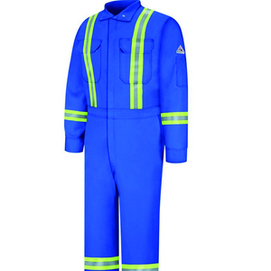 custom high quality hot sell cheap price coveralls with reflector mens safety coverall