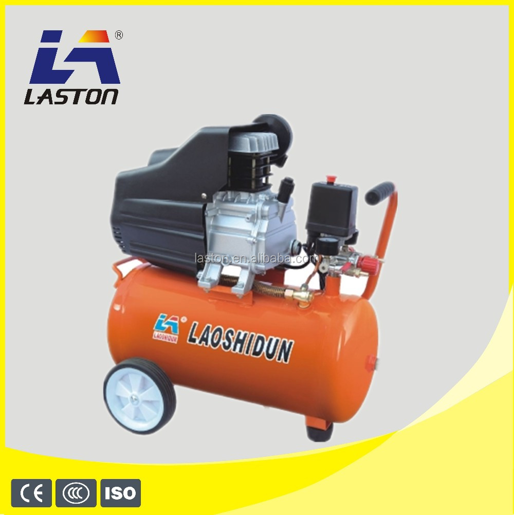 OIL-LESS LUBRICATION STYLE AND PORTABLE CONFIGURATION OILFREE AIR COMMPRESSOR