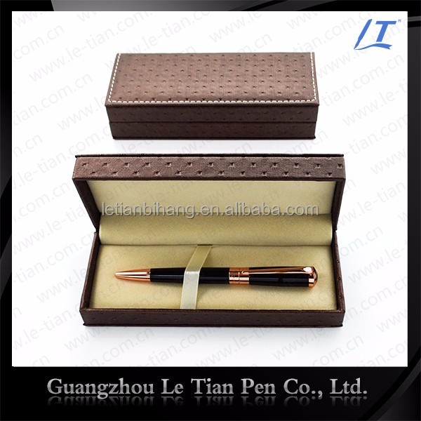 2017 New metal ball pen with elegant case for promotional gift item