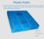 1500 x 1500mm virgin HDPE heavy duty double sides plastic pallets