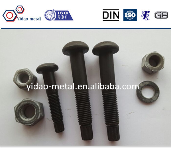 Round Head TC Bolt / High Strength Torque Shear Bolt with F35 and F10 nuts