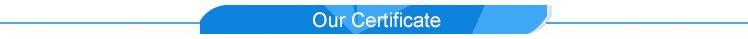 unser Zertifikat