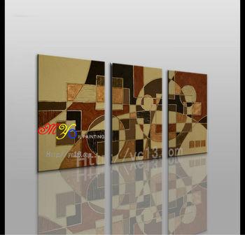 3 Pannello Astratta Handmade Acrilico Pitture Decorative Idee Per ...