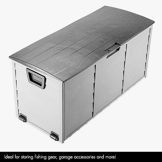 Garden Tool Cabinet Hard Plastic Living Box Storage