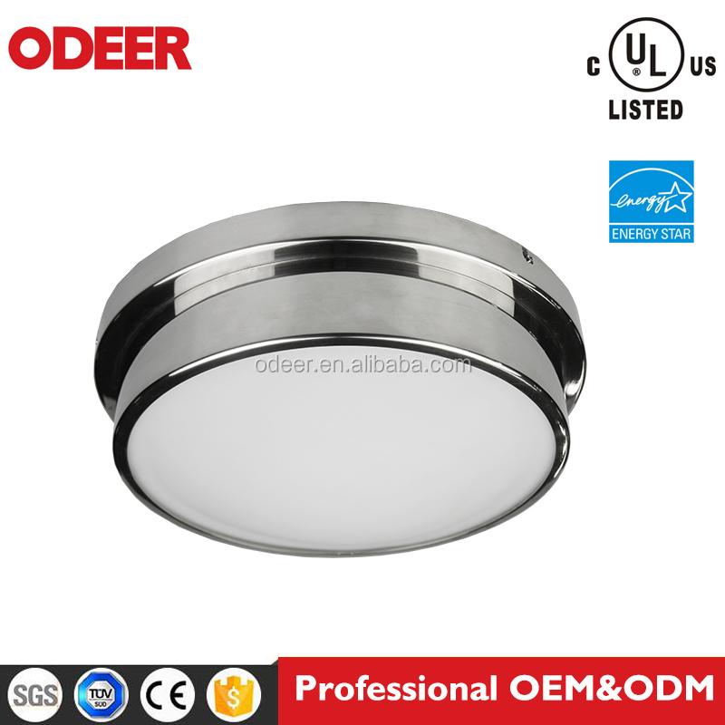 pulgadas watt blanco led integrado de bajo perfil redondo flushmount luz de techo