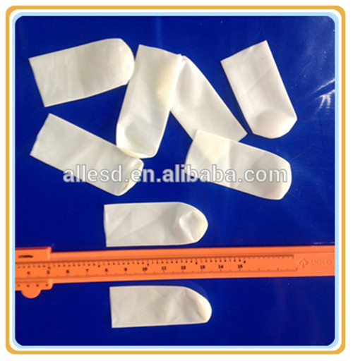 Cleanroom Latex ESD Sulphur free Finger Cot