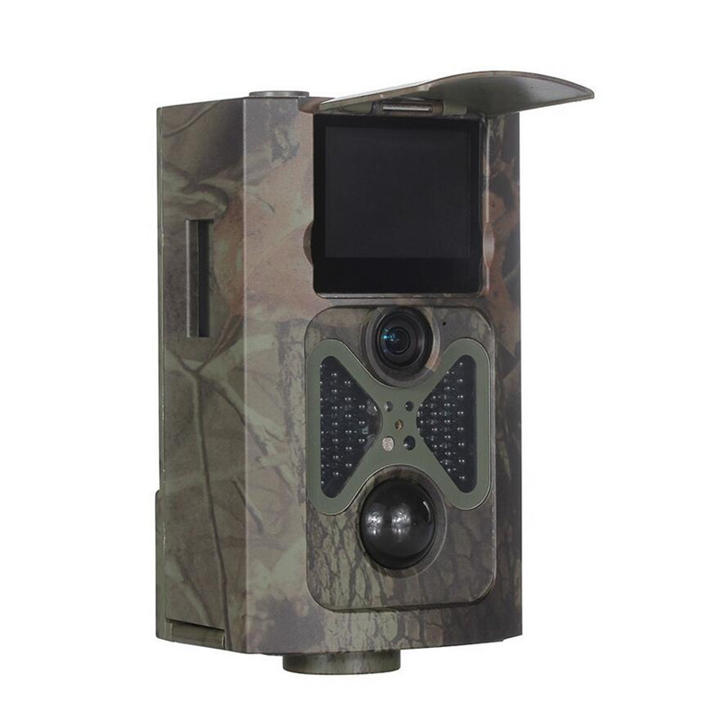 12MP 1080P 120 Degrees PIR Sensor Sight Angle Wildlife Trail Scouting Camera Basic Hunting Camera HC500A