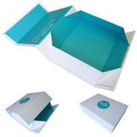 Custom magnet closure small folding gift box for baby clothes packaging