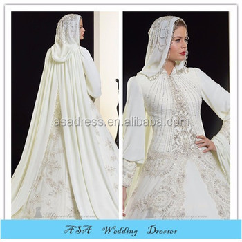 Elegant Dubai Newest Design Long Sleeve Beading Organza Muslim ...