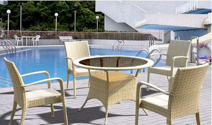 China Manufacturer bali rattan outdoor lounge furniture New Product environmentally protective