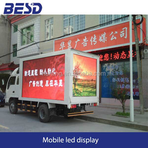 2014 Haisheng Removable Truck LED Display Water proof lifter with display