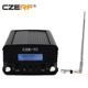 CZE-7C 1w/7w wireless fm radio transmitter with car powerful fm broadcasting transmitter