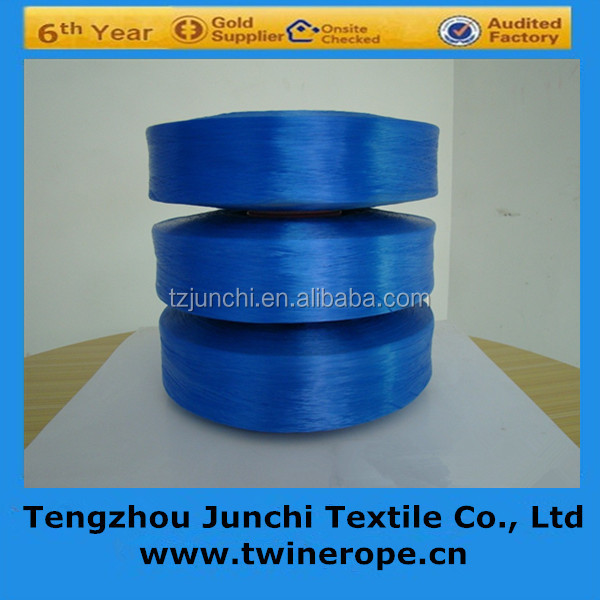high tenacity intermingled color pp multifilament yarn machine