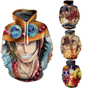 Coldker fashion Sweatshirts Tracksuits Tops Print 3D Hooded Anime One Piece AS Hoodies Thin Autumn Sweatshirts