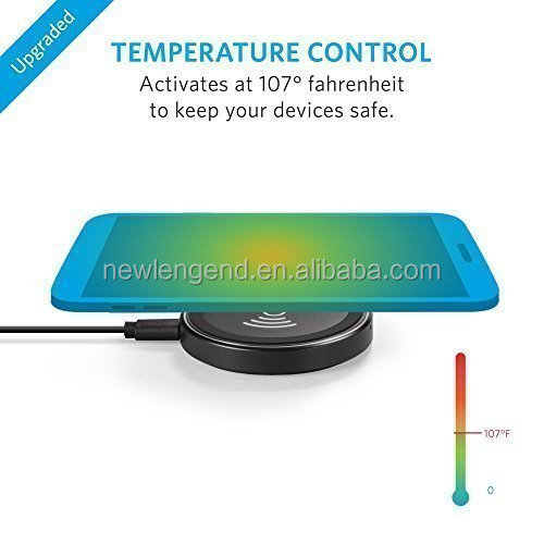 No Wire Charging Adapter Qi Wireless Phone Desktop Charger With ...