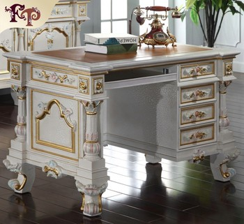 home office writing desks. Classic French Antique Furniture -luxury Home Office Furniture-Hand-made Royalty Writing Desks