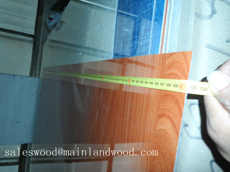 2440x1220mm(4'x8') wooden grain HPL/Decorative High-Pressure Laminates / Compact/washroom wall/toilet partition