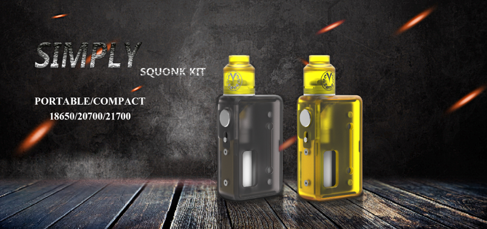 High Quality And More Cheaper Vzone Simply Squonk Kit Mechanical Battery  Box Vape Cigar & Electronic Cigarette For Sale Squonk - Buy Vzone,Vzone