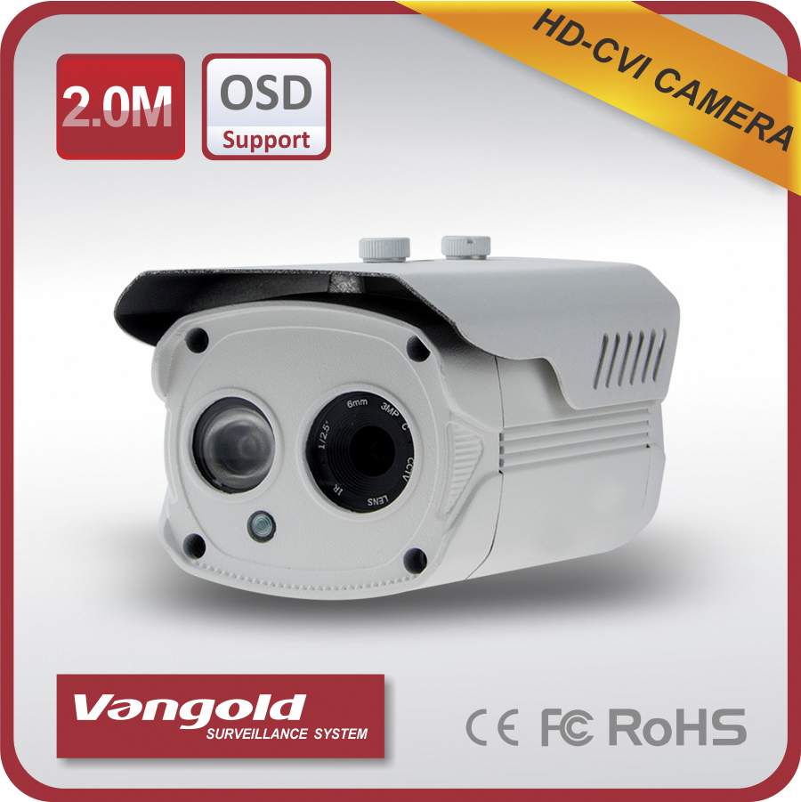 good market HD-CVI Array led camera with High Performance Video Encoder fine details Intelligent Video Analysis