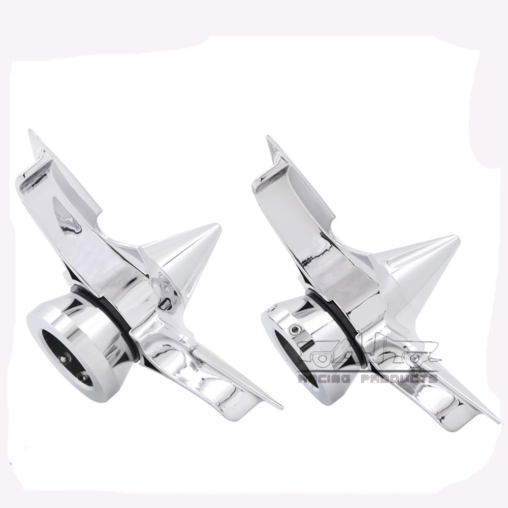 BJ-FS-HA005 Motor Softail Chrome Axle Blade Cap Cover for Harley Dyna Super Glide