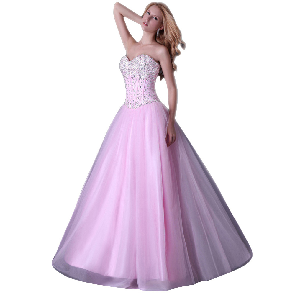 ed5c86d6d477 Get Quotations · Free Shipping Sexy Stock Strapless Corset style Party  Gowns Long Prom Ball Evening Dress 2015 Ball