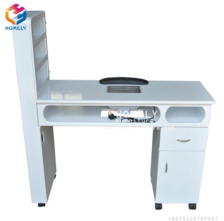 Best selling white beauty salon manicure table nail
