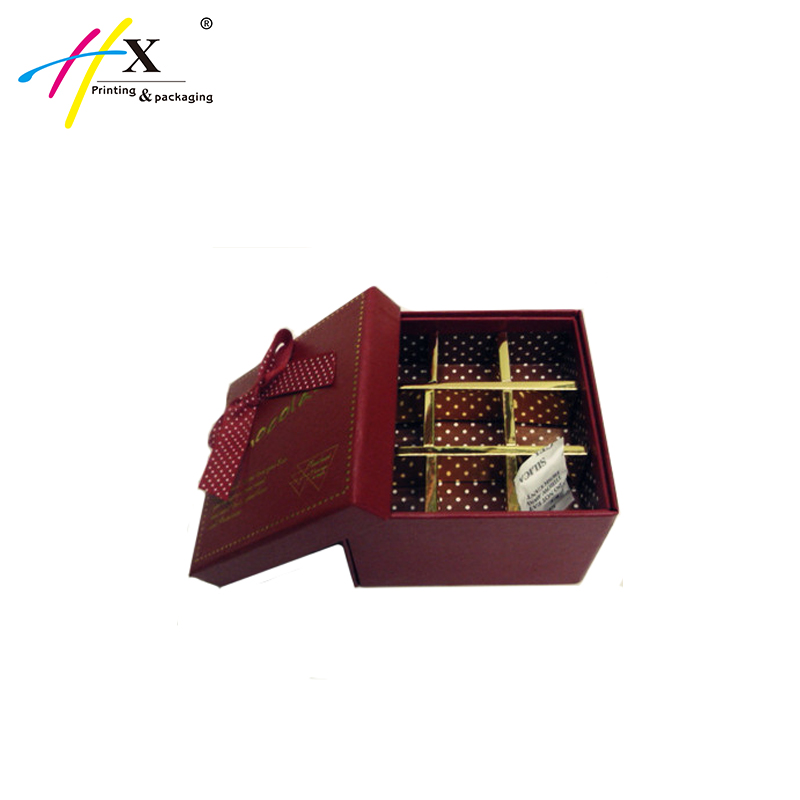 Recyclable Handmade Christmas Candy Chocolate Paper Packaging Gift Box