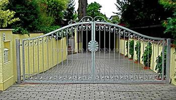 Puertas en hierro para el jard n nuevo producto de hierro forjado dise os en venta buy puertas - Puertas de hierro para patios ...
