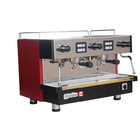 semi-automatic italian coffee machine for cafe 2 group stainless steel espresso commercial moka coffee maker