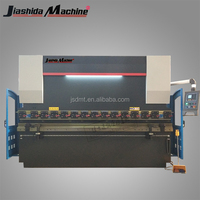 Good quality E21 system 240V 4 meter sheet metal press brake , sheet steel bending machine