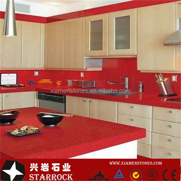 elegant red countertops limestone pictures countertop remodel surfaces hgtv alternative kitchen of