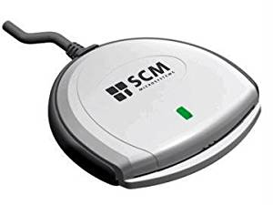 """Scm Microsystems Usb Smart Card Reader (Rom) - By """"Scm Microsystems"""" - Prod. Class: Digital Cameras/Keyboards/Input Devices/Input Adapter"""