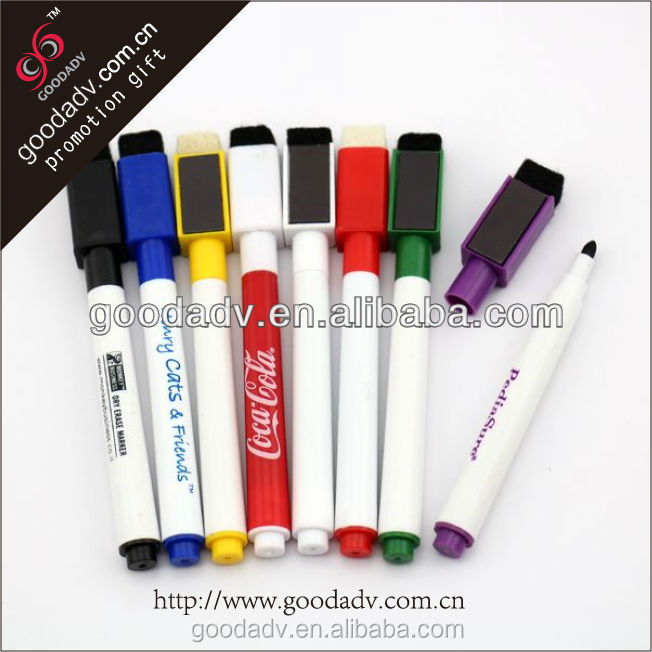 Factory Supply Full color printing custom eraser pen 100% eco-friendly note mark pen