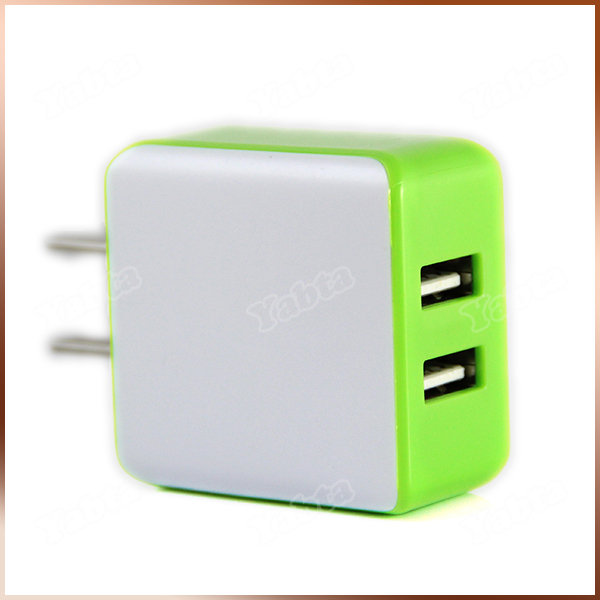 Tablet Dual USB Charger 2 Port, 2A CE Certificated Smartphone Home Charger