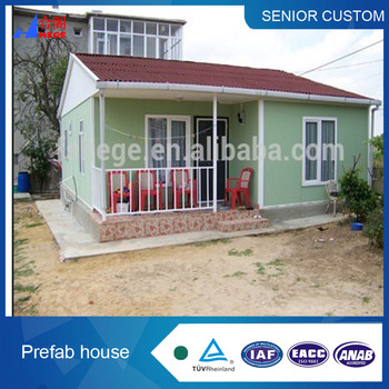 Good quality strong structure durable beautiful prefab house