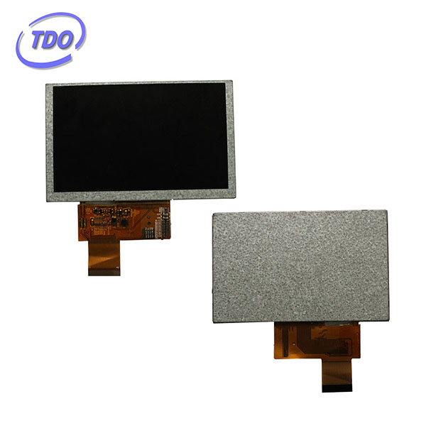 high brightness 1000nirs WVGA 800x 480 5 inch tft lcd module with CTP RTP optional