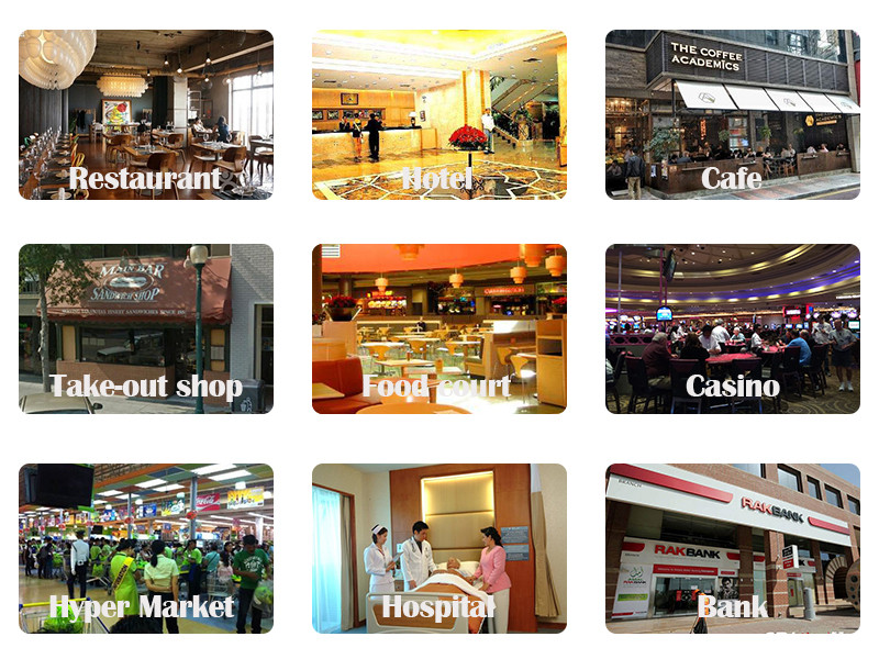 restaurant wireless service ordering system vibrating calling system