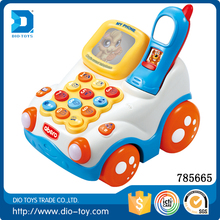Toddler toys electric toy phone educational telephone toy with music and light