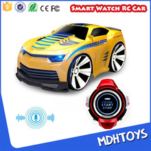NEW toys 2017 smart watch voice command control rc car toy