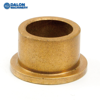 1 bronze flange collar shaft bushing and sleeve