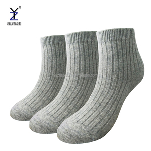 rabbit fur wool socks