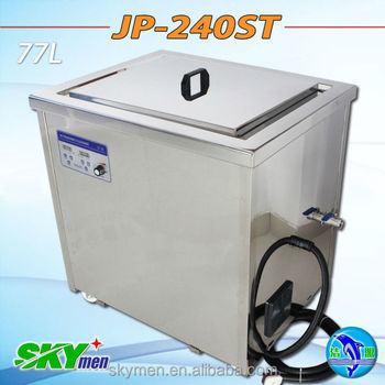 professional cleaning equipment ultrasonic cleaner JP-240ST with heating SUS soak tank