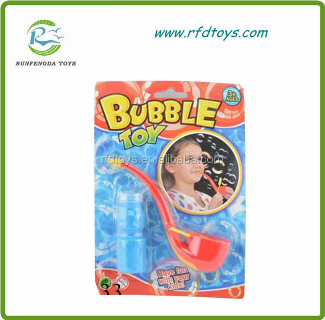 Plastic pipe bubble bottles water latest toy for kids soap bubble toy