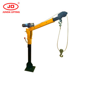Portable pickup 2 ton used truck mounted crane