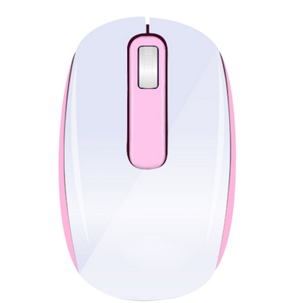Onn Wireless Mouse Pink Wire Center