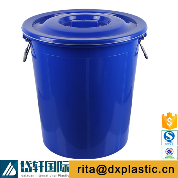 large plastic thickened water bucket capacity